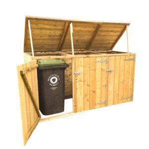 Wheelie Bin Storage Unit