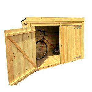 MCD Bike Shed Storage Unit No background