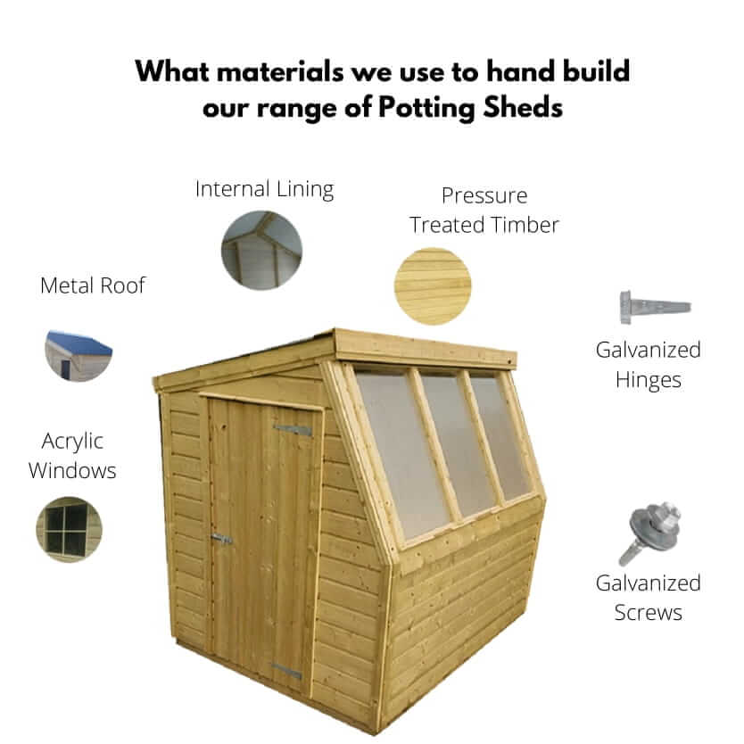 Potting Shed Build Quality