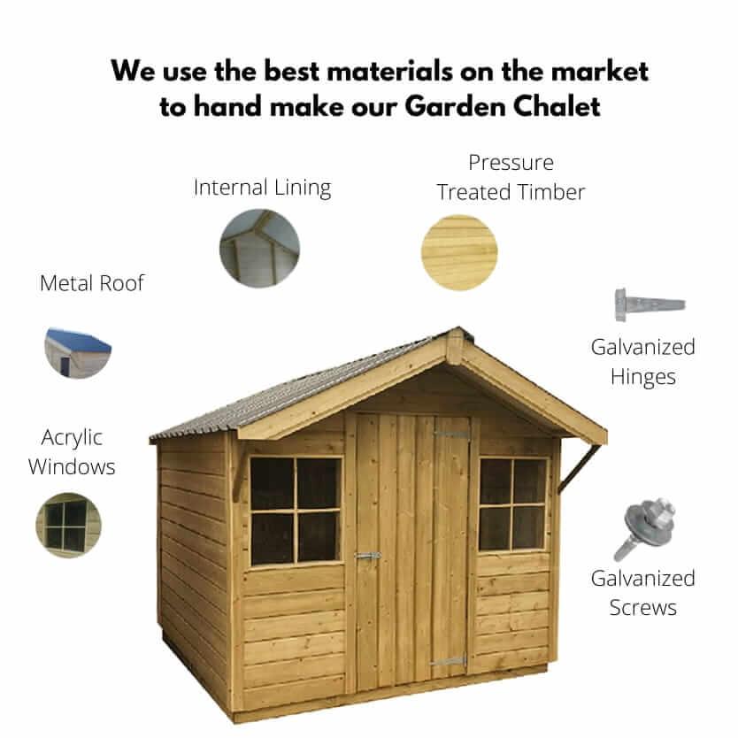 MCD Garden Lodge Build Quality