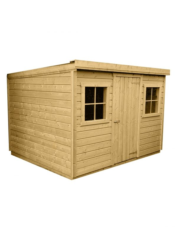 Pent Shed No background