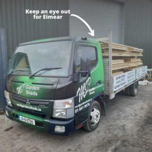 MCD Delivery Van