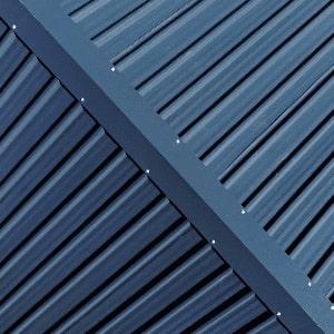 Steel Roof of Bespoke Custom Built Room