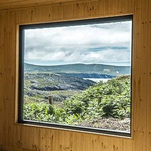 Window of Bespoke Custom Built Room